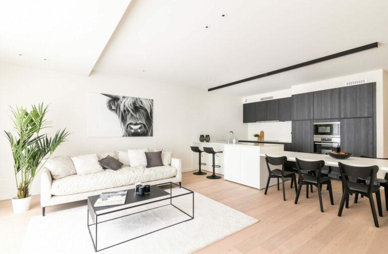 Modelappartement Hof ter Walle Roeselare - Interiors by Karolien