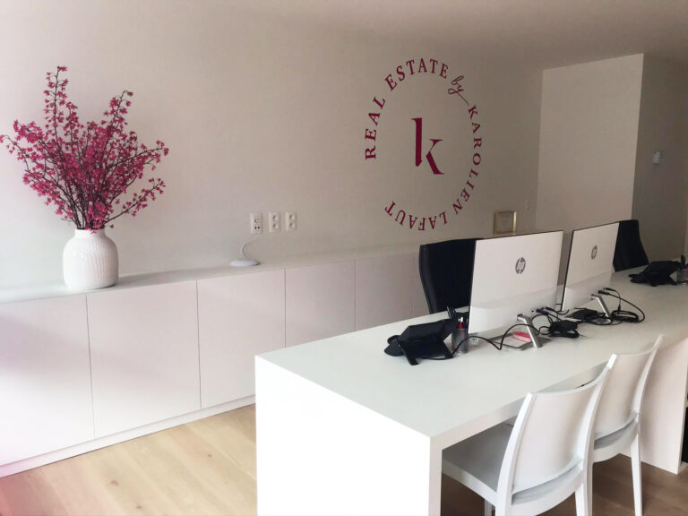 Roeselare kantoor Real Estate interieur